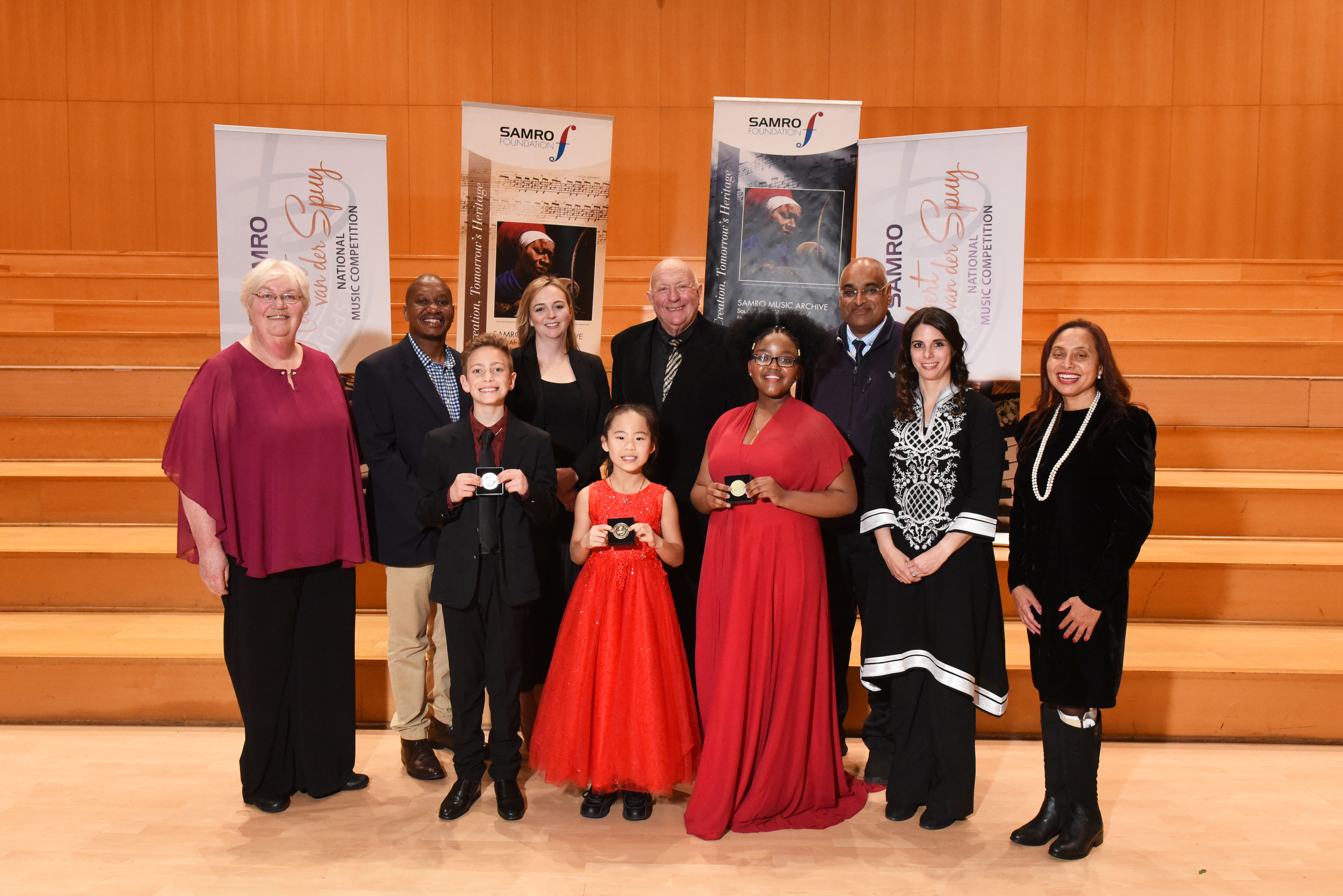 Congratulations to the 2018 SAMRO Hubert van der Spuy Competition winners