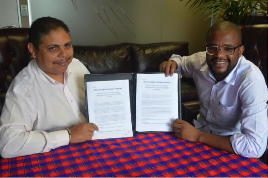 Music in Africa and Samro Foundation sign MOU